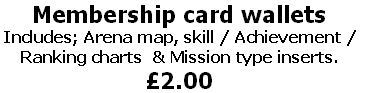 Membership card wallets